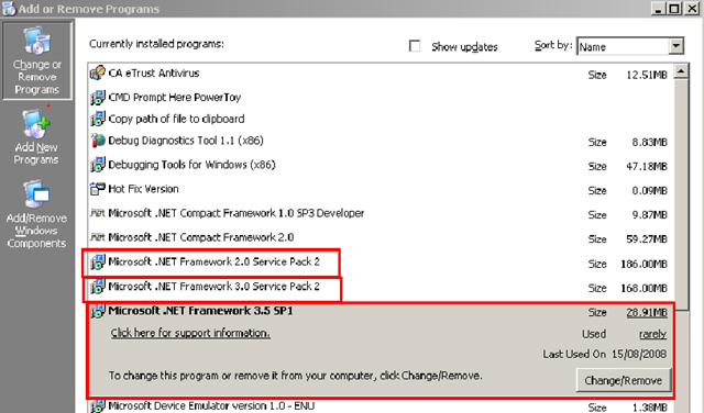 net framework 3.0 windows 8